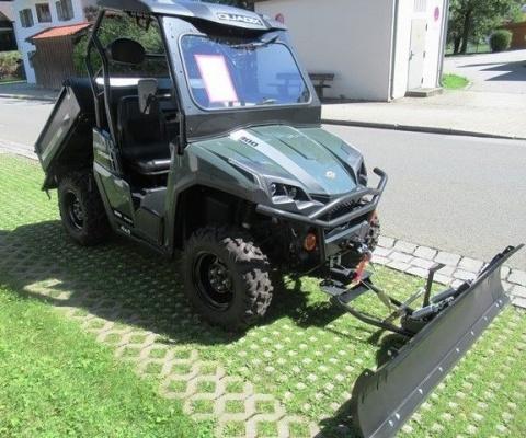 Quadix Trooper UTV 800 Schneeschild